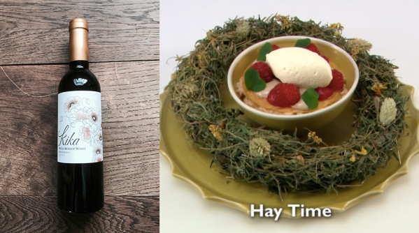 hay time wine match